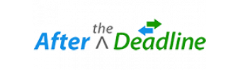 after the deadline logo