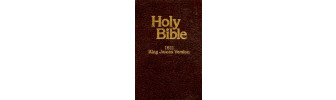 holy bible 1611 king james version
